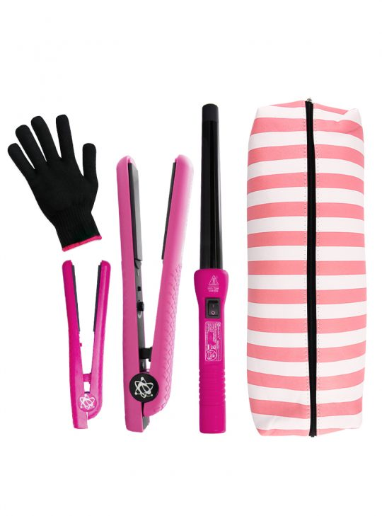 Complete Styling Set Crazy Pink