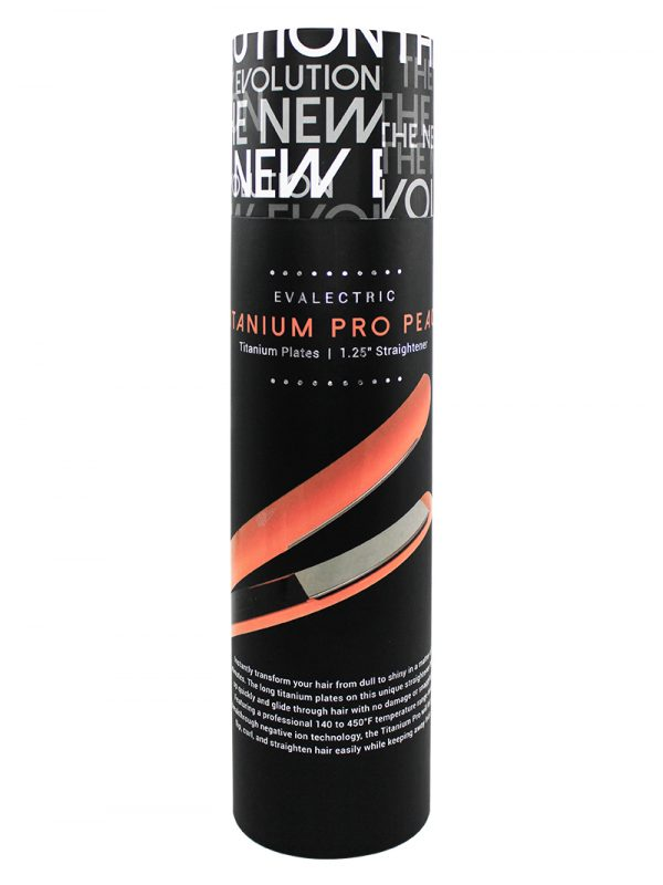 Titanium Pro Peach in packaging