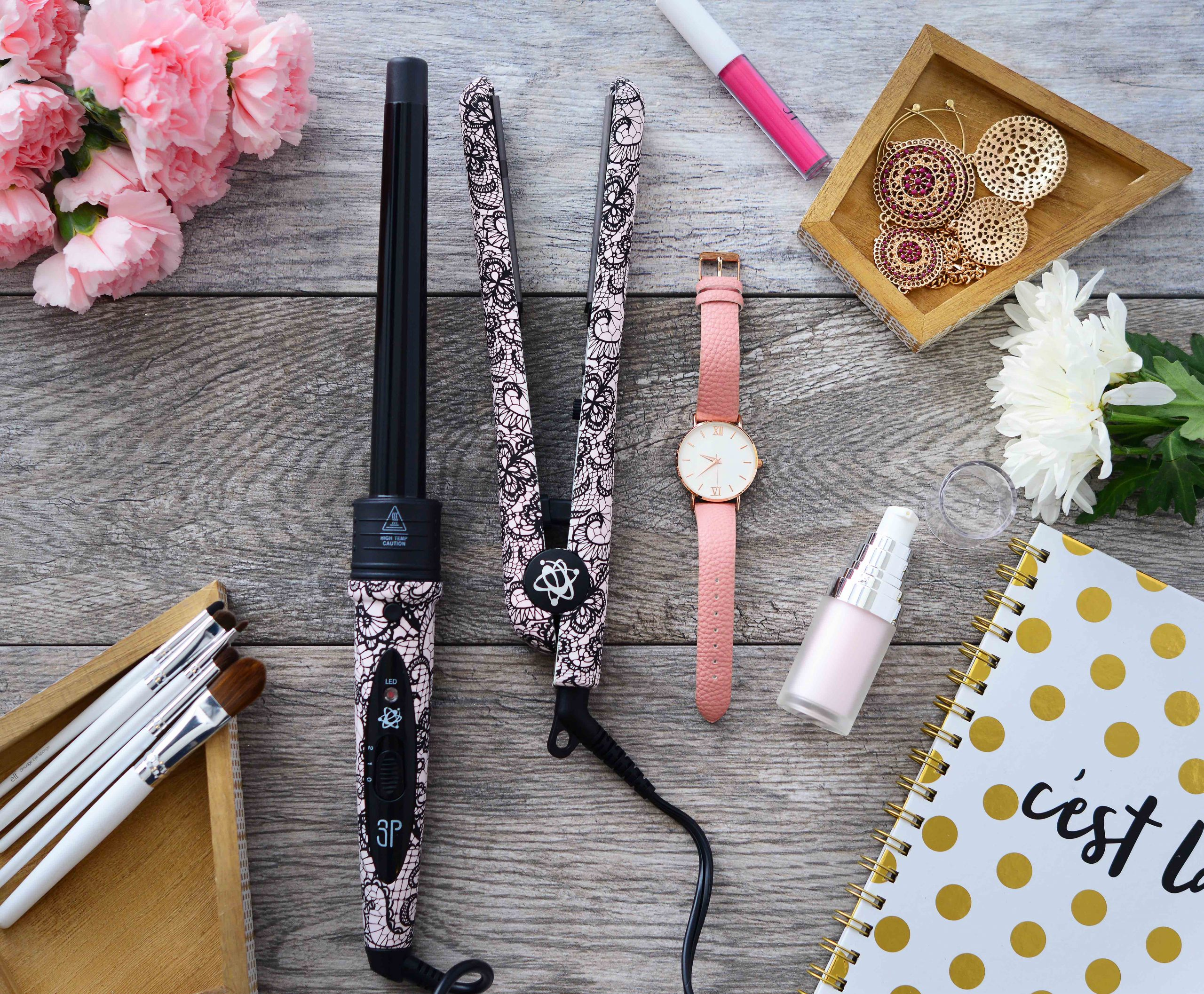 Evalectric hair styling tools