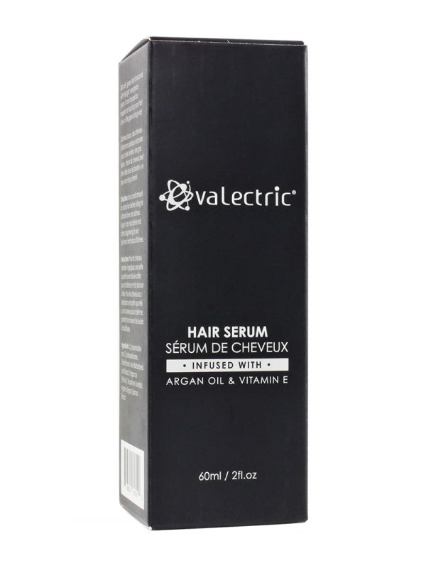 Evalectric hair serum box