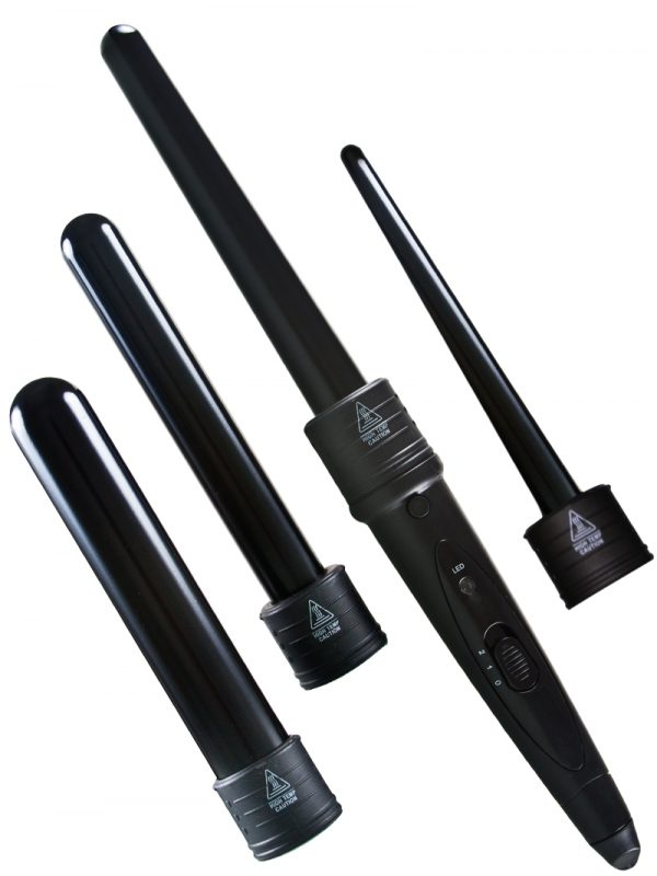 Evalectric 4p infinity Styling set black wand