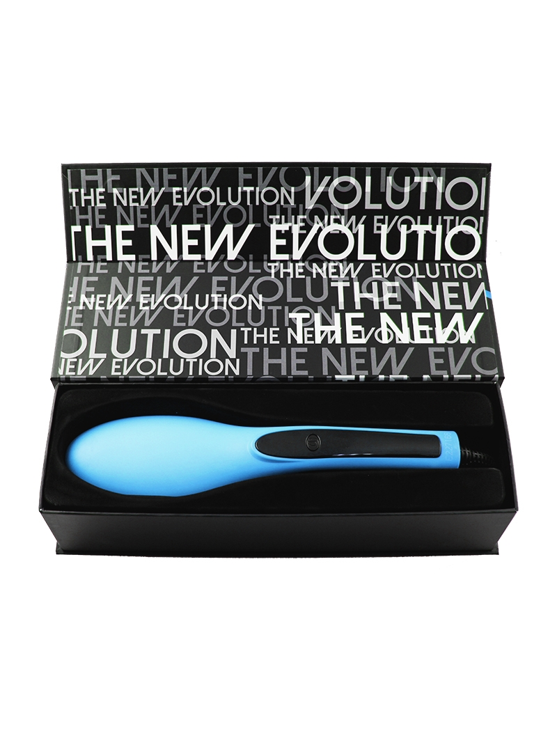 Evalectric Straight Brush Pro Blue Box Open