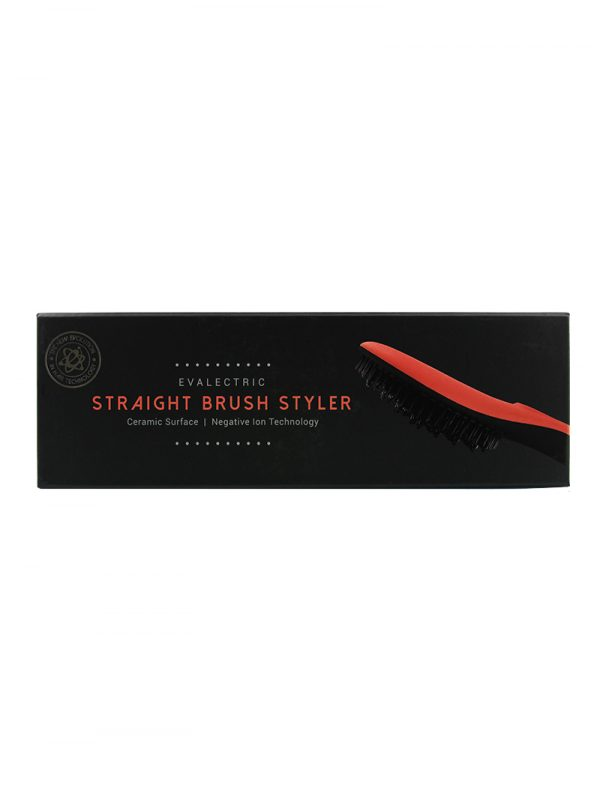 Evalectric Straight Brush Pro Orange box