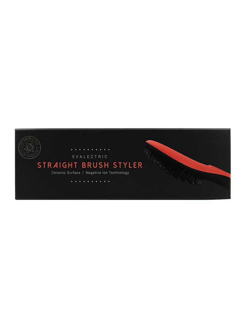 Evalectric Straight Brush Pro Orange box