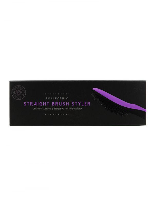 Evalectric Straight Brush Pro Purple box