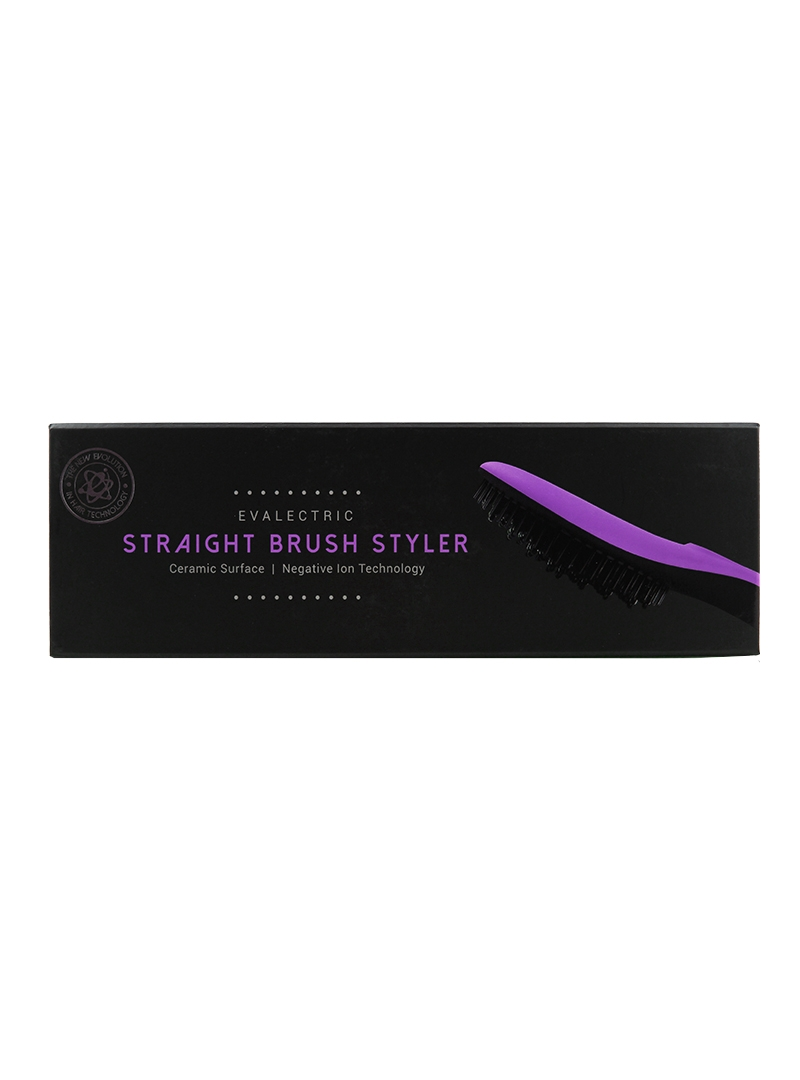 Evalectric Straight Brush Pro Purple box