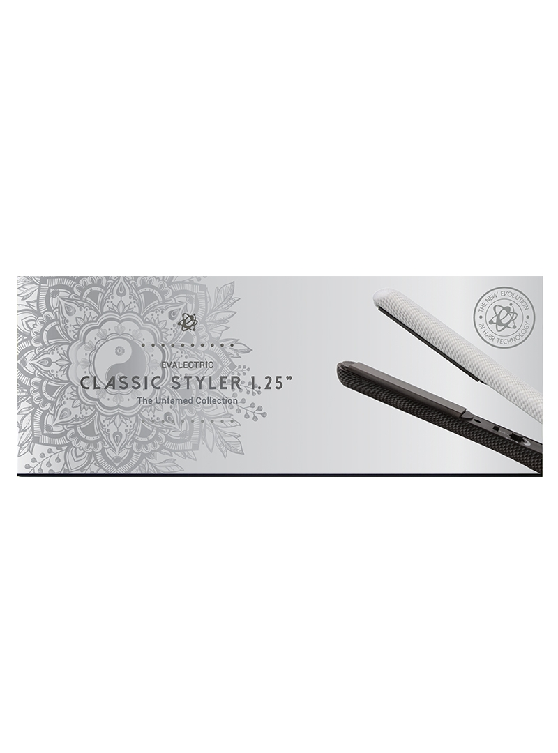 Evalectric Yin Yang Hair Straightener box